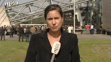 RTL Nieuws 'Muisstil in Lommel tijdens herdenking'
