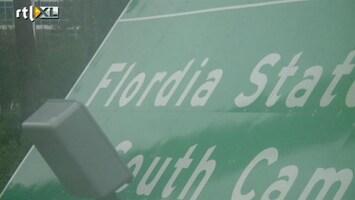 RTL Nieuws Dyslectische bordenmaker in Florida/Flordia