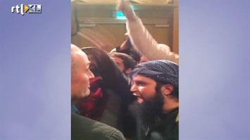 RTL Nieuws Radicale moslims verstoren debat in Amsterdam