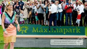 RTL Boulevard Máxima opent haar eigen park