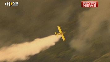 RTL Nieuws Australische stad Perth bedreigd door bosbrand