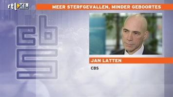 RTL Nieuws CBS: Mensen stellen kinderen uit door de crisis