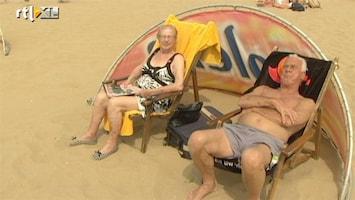 RTL Nieuws Eerste warme stranddag van het jaar