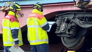 RTL Nieuws Frontale treinbotsing Maasvlakte