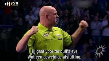 RTL Boulevard Dartkampioen Michael van Gerwen