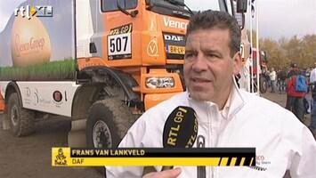 RTL GP: Dakar Pre-proloog Interview Frans van Lankveld