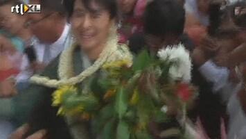 RTL Nieuws Aung San Suu Kyi begint campagne Myanmar