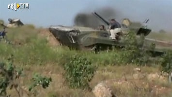 RTL Nieuws VS overweegt rebellen Syrië te bewapenen