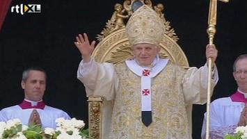 RTL Nieuws Paus: Zalig Pasen!