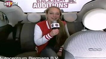 X Factor Fiat 500 Backseat Audition: Micheline