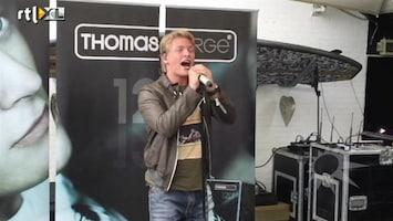 RTL Boulevard Thomas Berge presenteert zijn nieuwe album