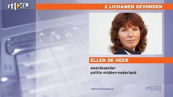 RTL Nieuws Twee lichamen gevonden bij Cothen