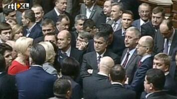 RTL Nieuws Parlement Oekraïne splitst zich op