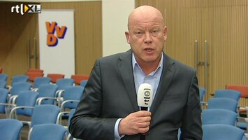 RTL Nieuws Frits Wester: uitleg Rutte aan VVD'ers moeizaam