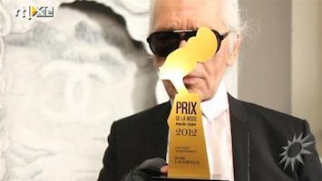 RTL Boulevard Marie Claire reikt Prix de la Mode uit