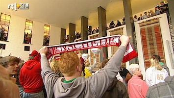 RTL Z Nieuws Enschede huldigt FC Twente op stadhuis