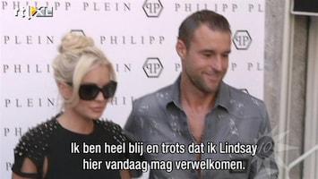 RTL Boulevard Fiona's interview met Lindsey Lohan