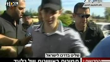 RTL Nieuws Israëlische soldaat Ghilad Shalit vrij