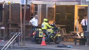 RTL Nieuws Man steekt zichzelf neer