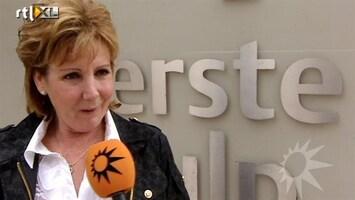 RTL Boulevard Marianne Weber voor controle in ziekenhuis