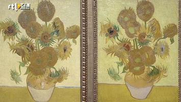 RTL Nieuws Zonnebloemen weer terug in Van Gogh Museum