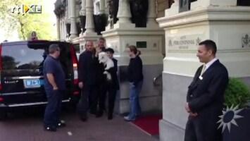 RTL Boulevard Barbra Streisand aangekomen in Nederland