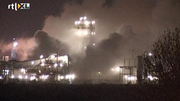 RTL Nieuws Grote natriumbrand in Groningse Farmsum
