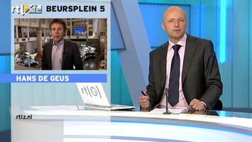 RTL Z Nieuws 12:00 Belangrijke speech Bernanke vanavond: Hans de Geus blikt vooruit