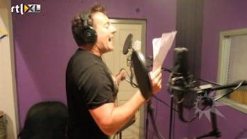 RTL Boulevard Opnames nieuwe single Gerard Joling