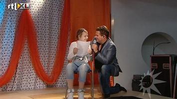 RTL Boulevard Wolter Kroes zingt voor MS kinderen