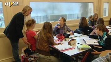 RTL Nieuws Scholieren staken tegen 1040 uur