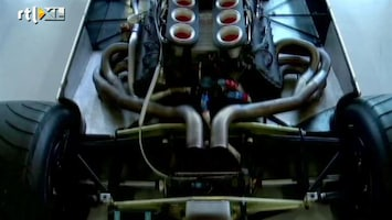 RTL GP: Formule 1 Williams rijdt met oude auto's op partnerdag