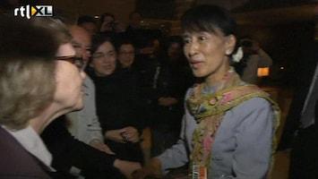 RTL Nieuws Suu Kyi na 24 jaar terug in Europa