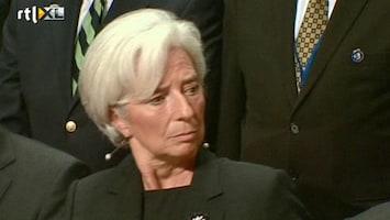 RTL Nieuws Sombere gezichten op IMF-top