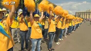 RTL Nieuws Oekraïne gek van voetbal