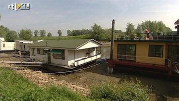 RTL Nieuws Woonboot op het droge