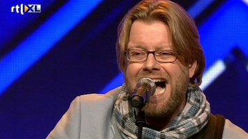 X Factor - Joep Imponeert Met Just The Two Of Us