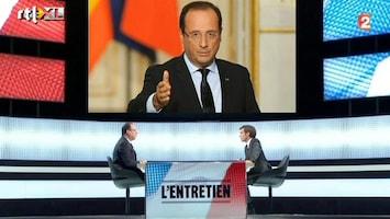 RTL Nieuws Charme-offensief Franse president Hollande