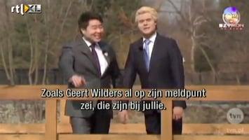 Editie NL Polen spotten met Wilders