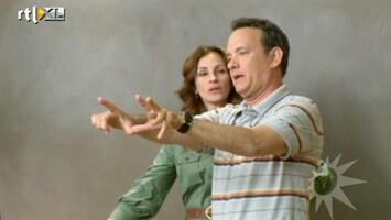 RTL Boulevard Tom Hanks en Julia Roberts samen in één film