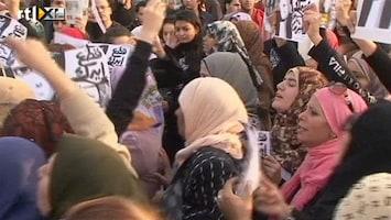 RTL Nieuws Protest tegen mishandeling vrouwen Egypte
