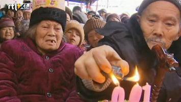 RTL Nieuws Chinees paar wordt 100 op één en dezelfde dag