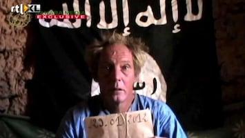 RTL Nieuws Ontvoerde Nederlander duikt op in video al Qaeda