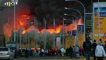 RTL Nieuws 'Brand vliegveld Kenia heeft dramatische gevolgen'