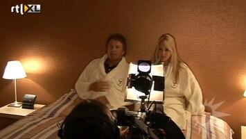 RTL Boulevard Chantal Janzen en Robert ten Brink samen in bed