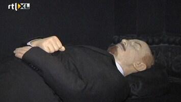 RTL Nieuws Vladimir Lenin ademt nog steeds