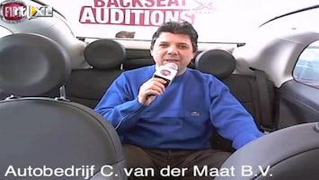 X Factor Fiat 500 Backseat Auditions: Radulescu