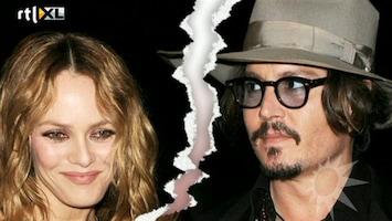 RTL Boulevard Johnny Depp en Vanessa Paradis uit elkaar