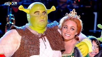 RTL Boulevard Cast Shrek ziet decor voor het eerst