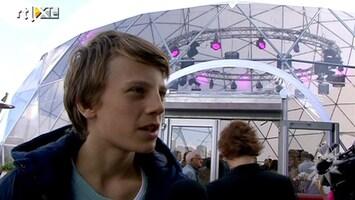 RTL Boulevard De Borsato's bij film Ruben